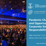 """Conference: """"Pandemic Challenges and Opportunities for Corporate Social Responsibility"""""""